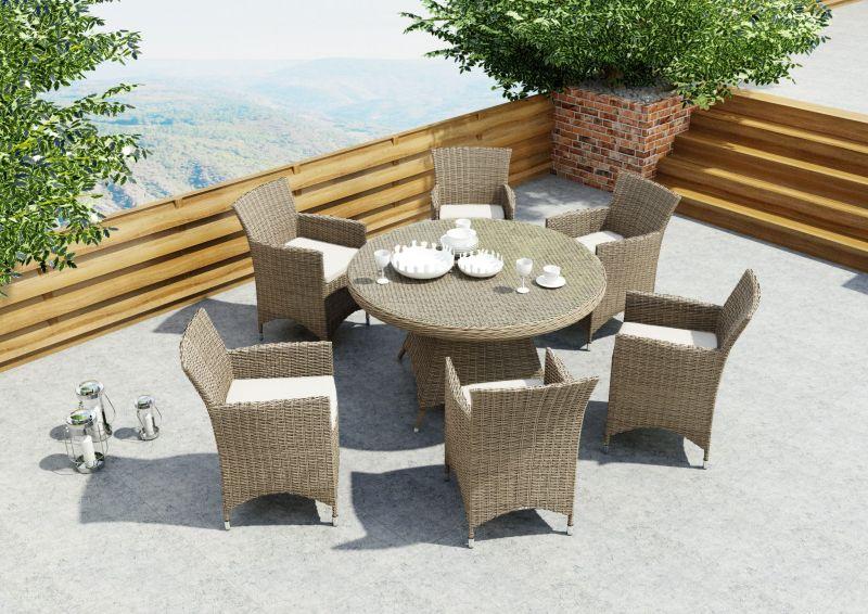 Rondo 6 személyes étkező kerti bútor