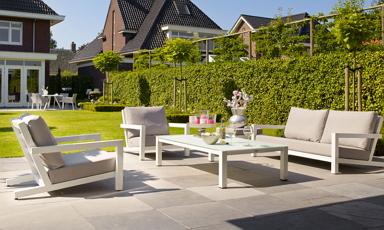Rattan és alumínium kert bútor, kerti étkező és függőfotel válogatás