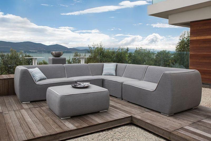 Puha design kerti kanapé