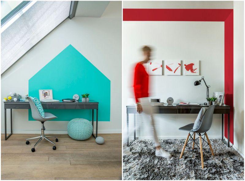 Polifarbe Platinum festék dekoratív dolgozószoba