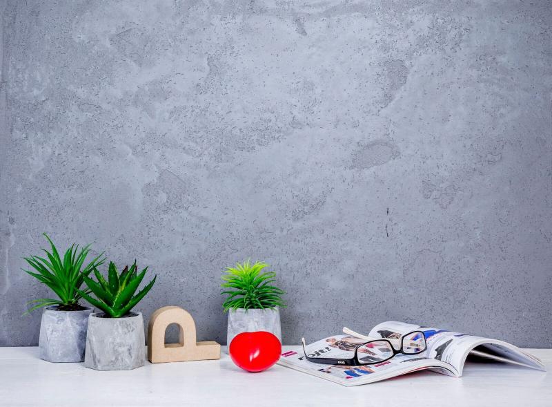 Polifarbe Platinum Decor beton hatású falfesték
