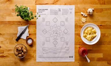 Az IKEA zseniális sütőpapírjai gyerekjátékká teszik az ételkészítést