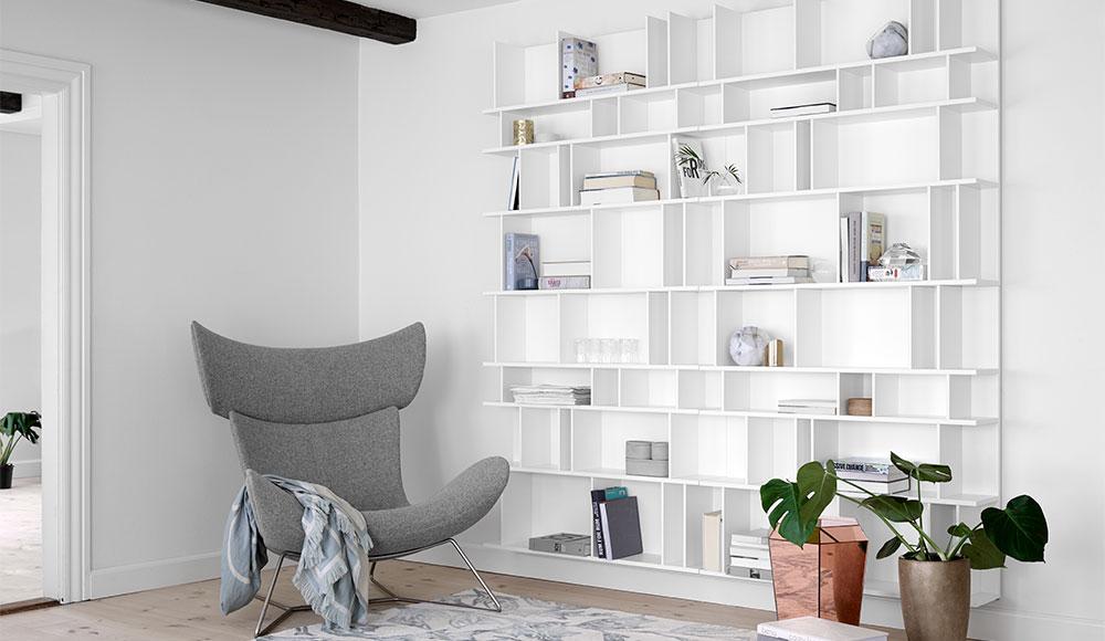 Como szekrény Boconcept design fotellel