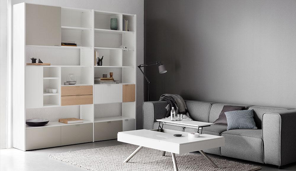 Copenhagen szekrény Boconcept kanapéval