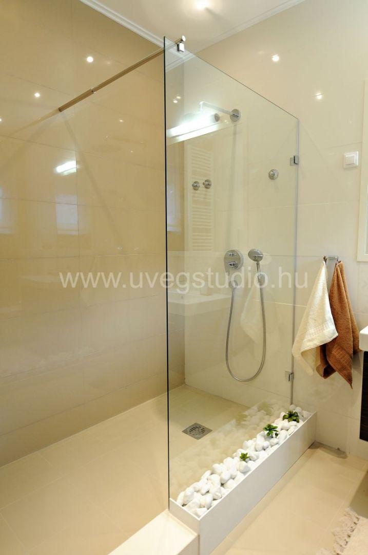 Zuhanykabin üvegfallal