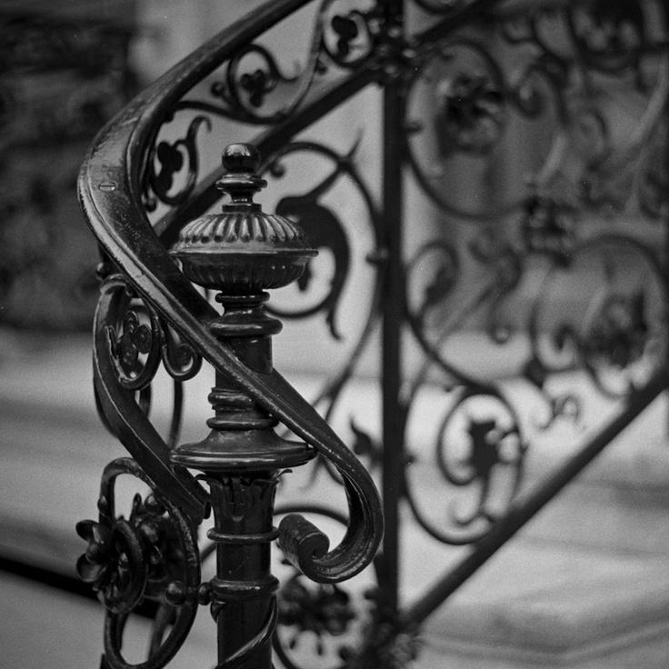 Kovácsoltvas kapaszkodó lépcsőhöz
