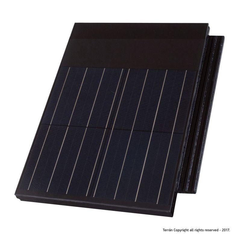 Terrán Futuron tetőcserép napelemes