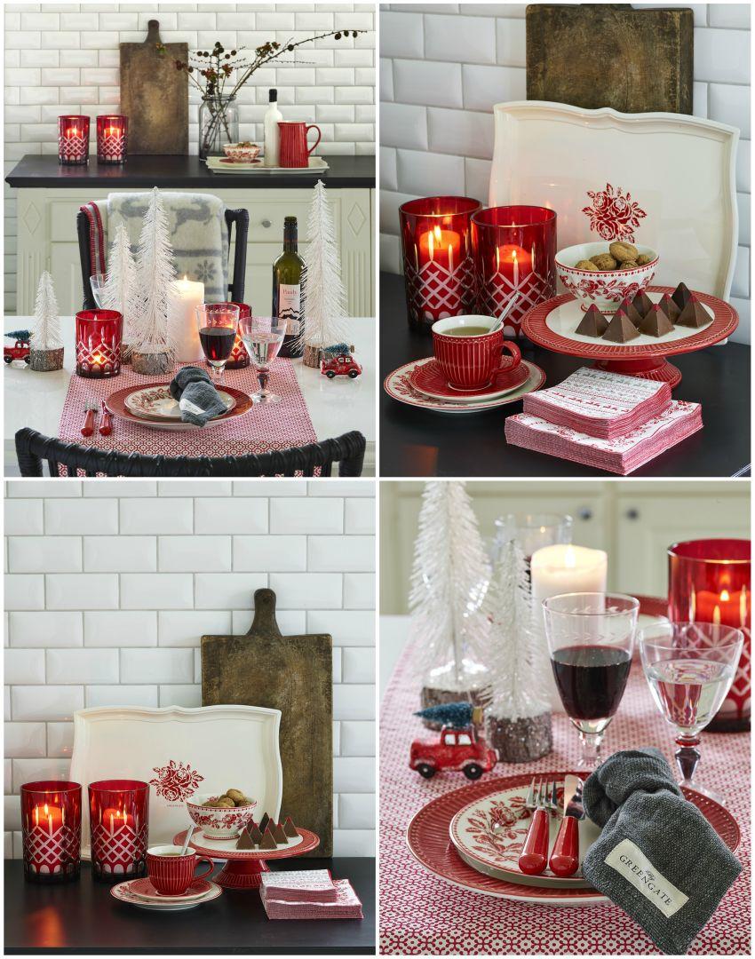 Karácsonyi dekoráció asztaldísz