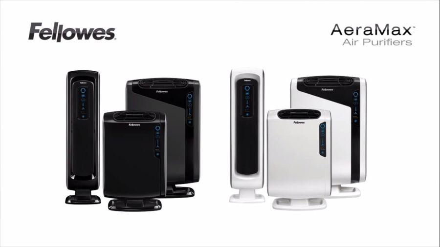 Fellowes AeraMax™ légtisztító fekete és fehér