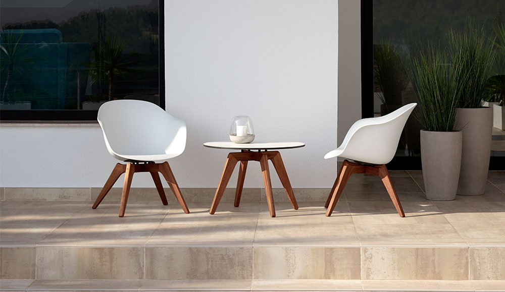 Adelaide BoConcept kültéri szék és dohányzóasztal