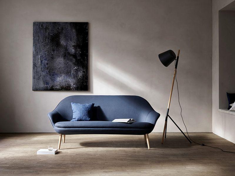 Adelaide BoConcept kanapé sötétkék