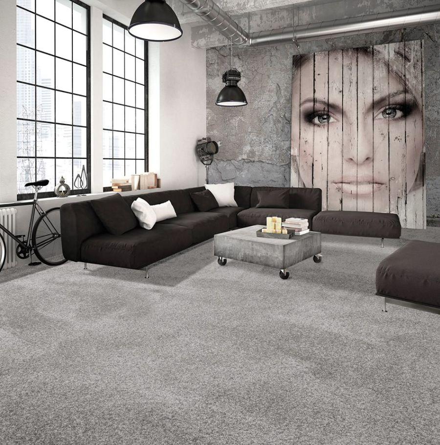 Leguan padlószőnyeg loft lakásba