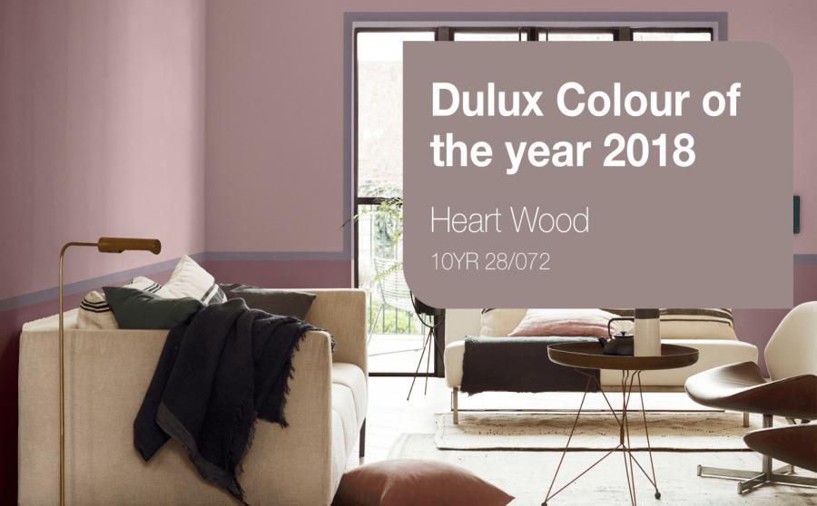 Dulux 2018 év színe
