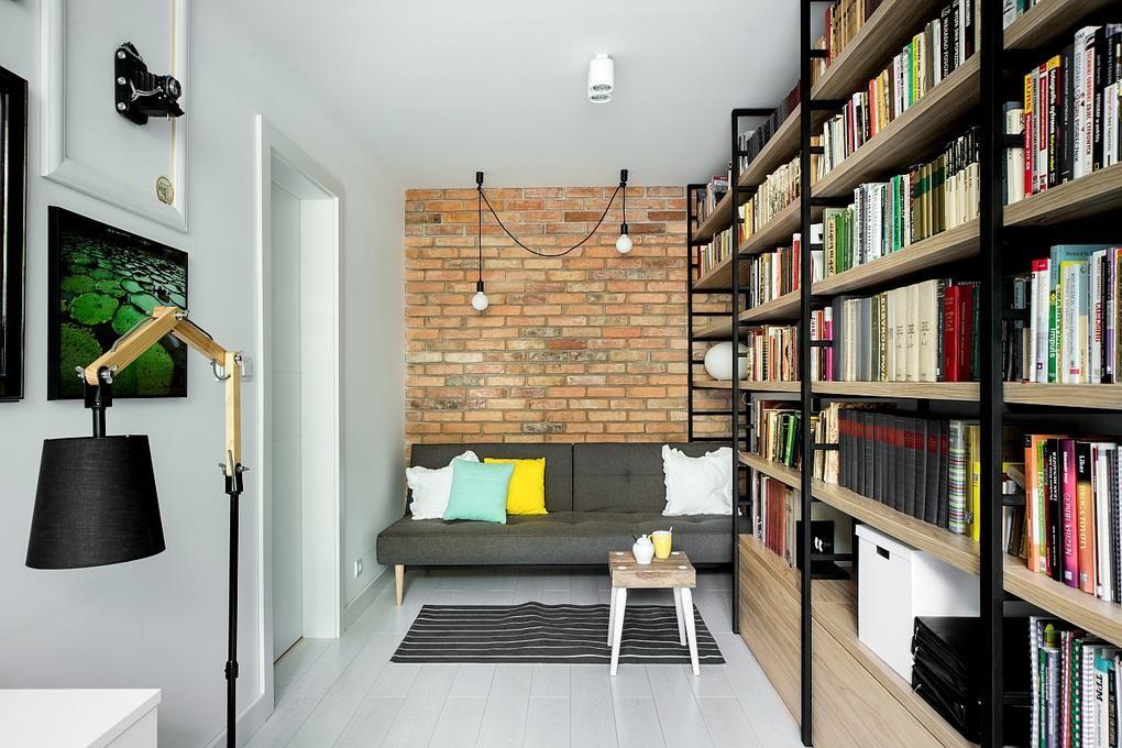 Dolgozószoba berendezés könyvtárolás otthon
