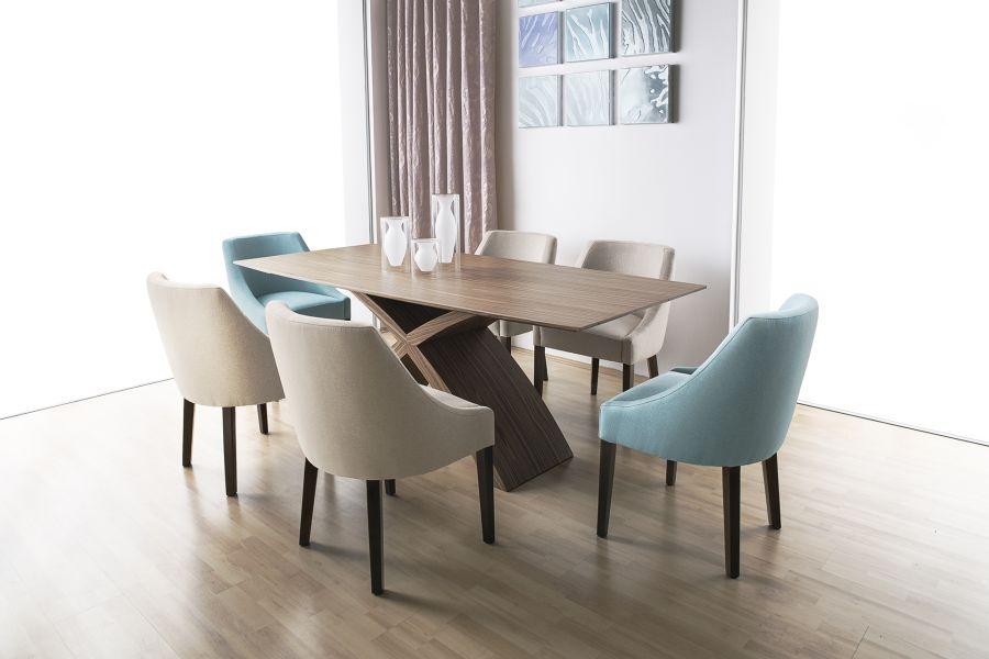 Rio Design étkező Zoé szék, Bridge asztal