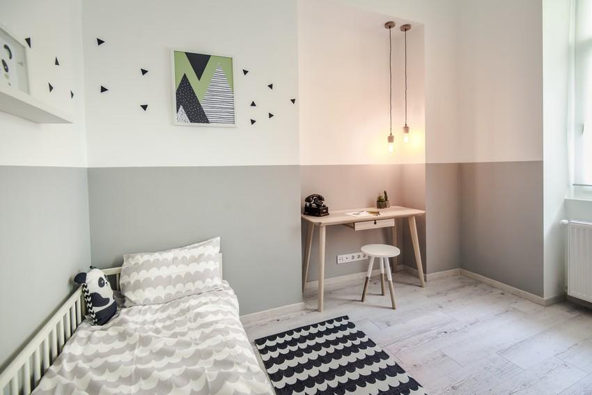 Semleges vendégszoba lakberendezés