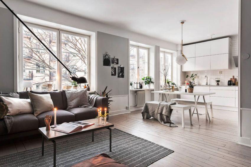 Szépen fotózott lakás