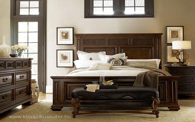 Klasszikus stílusú lakberendezés férfias bútorokkal, kiegészítőkkel