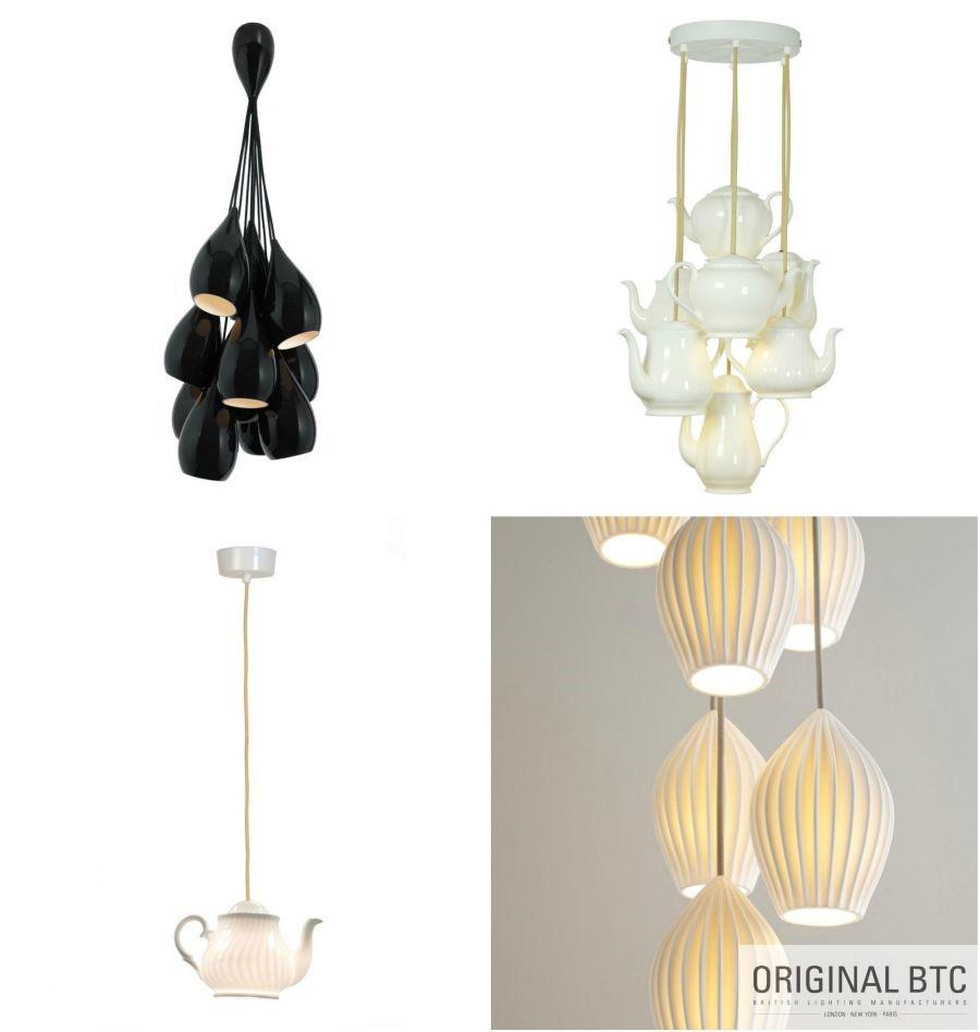 Original BTC étkező lámpák pandantok
