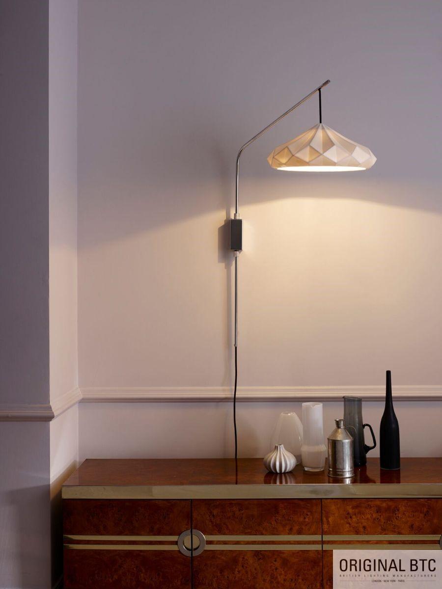 Original BTC fali lámpa