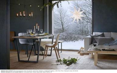 Az IKEA a VINTER 2017 kollekcióval készül az ünnepekre