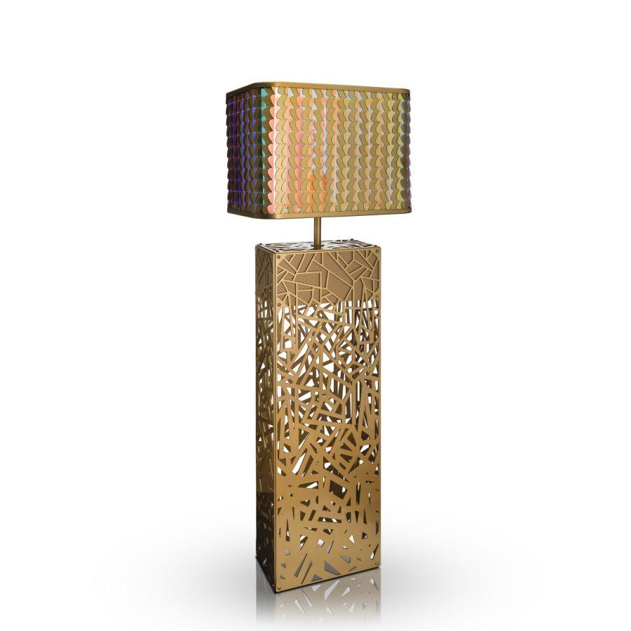 Laokoon art deco ihlette lámpa kollekció állólámpa