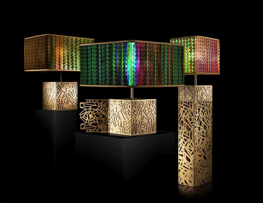 Laokoon art deco ihlette lámpa kollekció