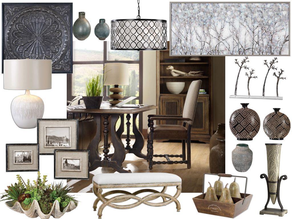 Dolgozószoba klasszikus stílusban