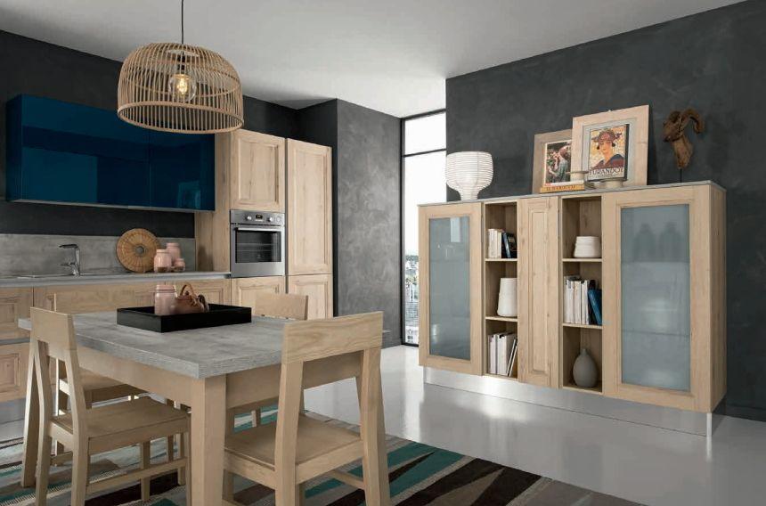 Natúr konyhabútor ötlet Bono Design Kft. Riviera sorozat