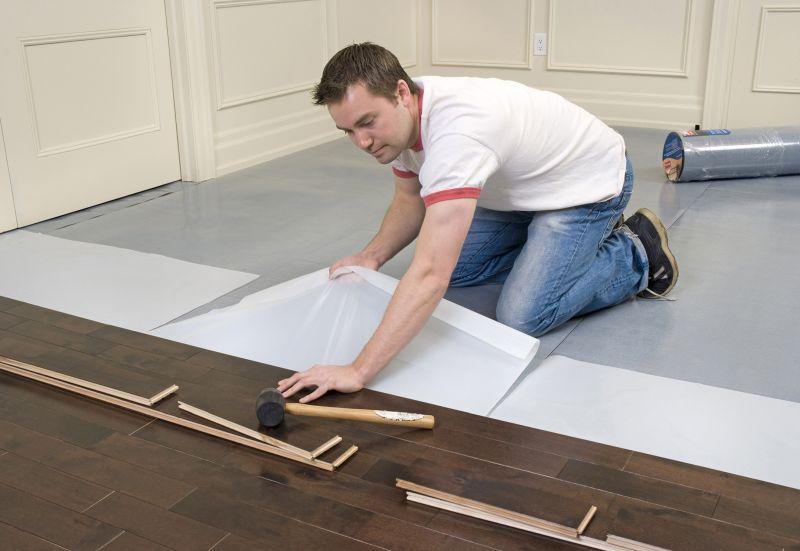 Laminált padló lerakása otthon