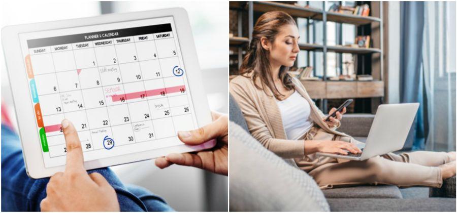 Tablet időbeosztás