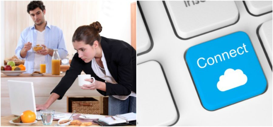 Laza otthoni munkavégzés