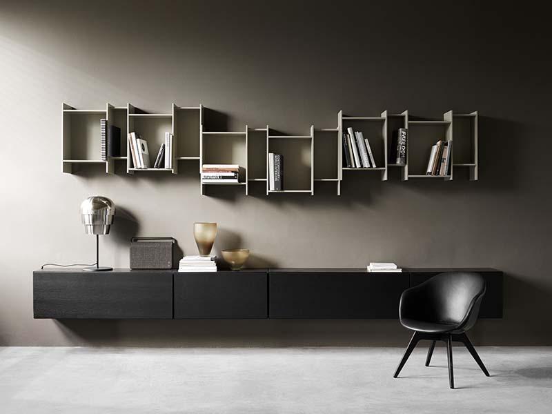 BoConcept Lugano nappali bútorok fekete színben