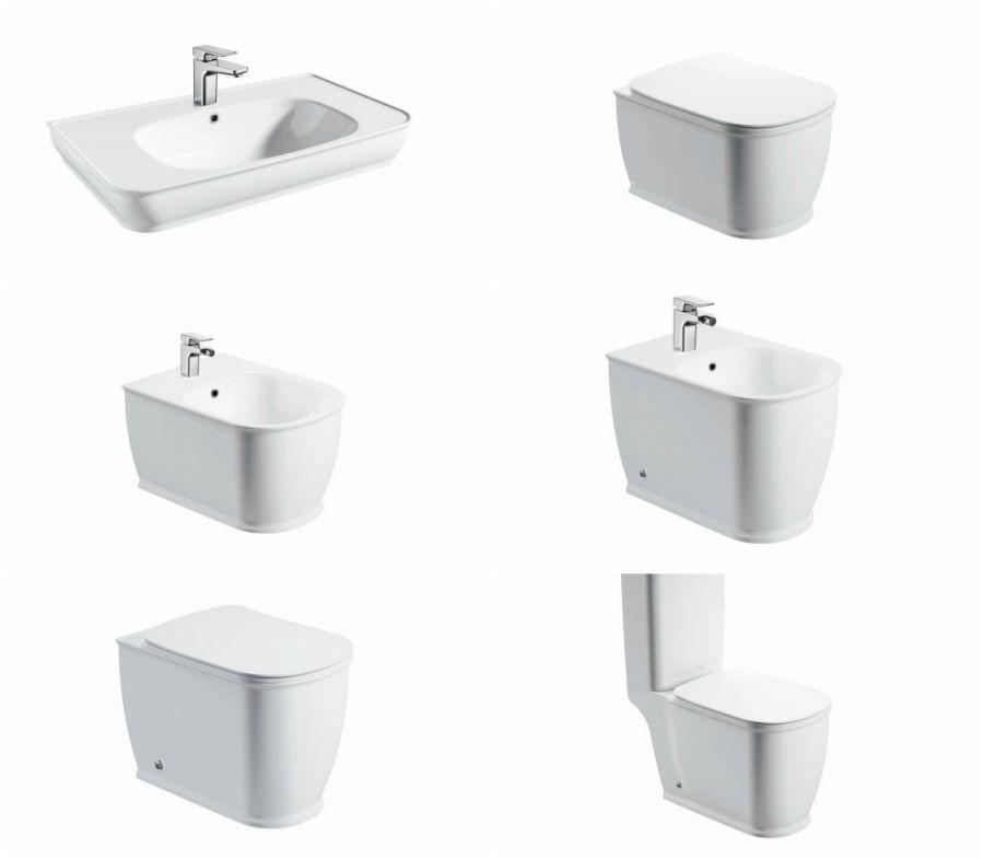 Arezzo Design Charlton mosdó, szaniter választék