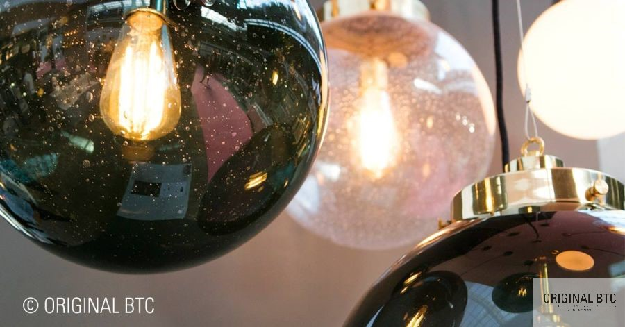 BTC üveggömb lámpa