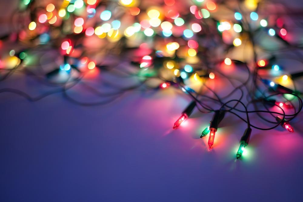 Karácsonyi fényfüzér