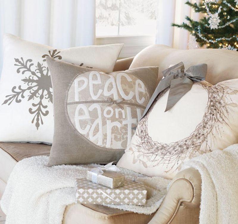 Karácsonyi takaró párna
