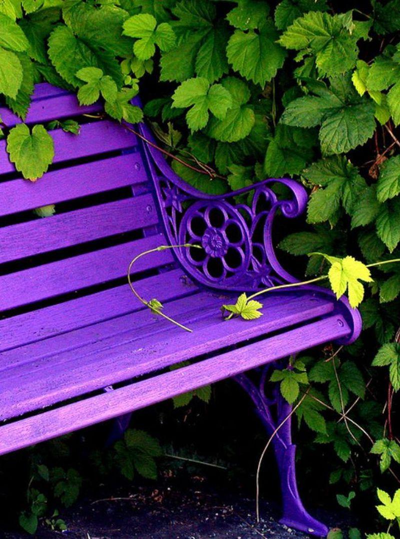 Lila kerti ülőpad