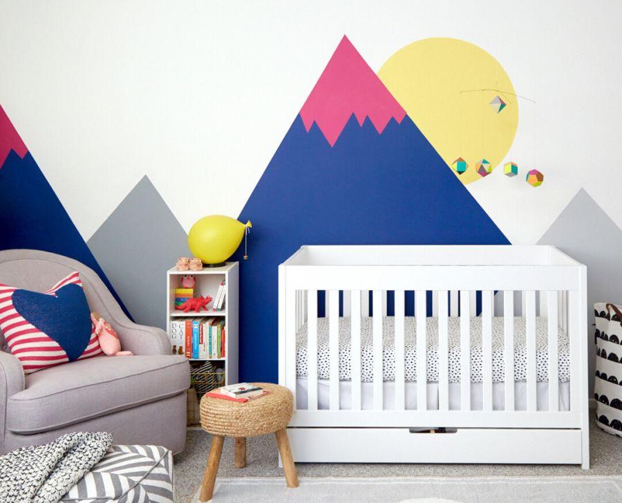 Emily Henderson lakberendező - Modern babaszoba berendezés