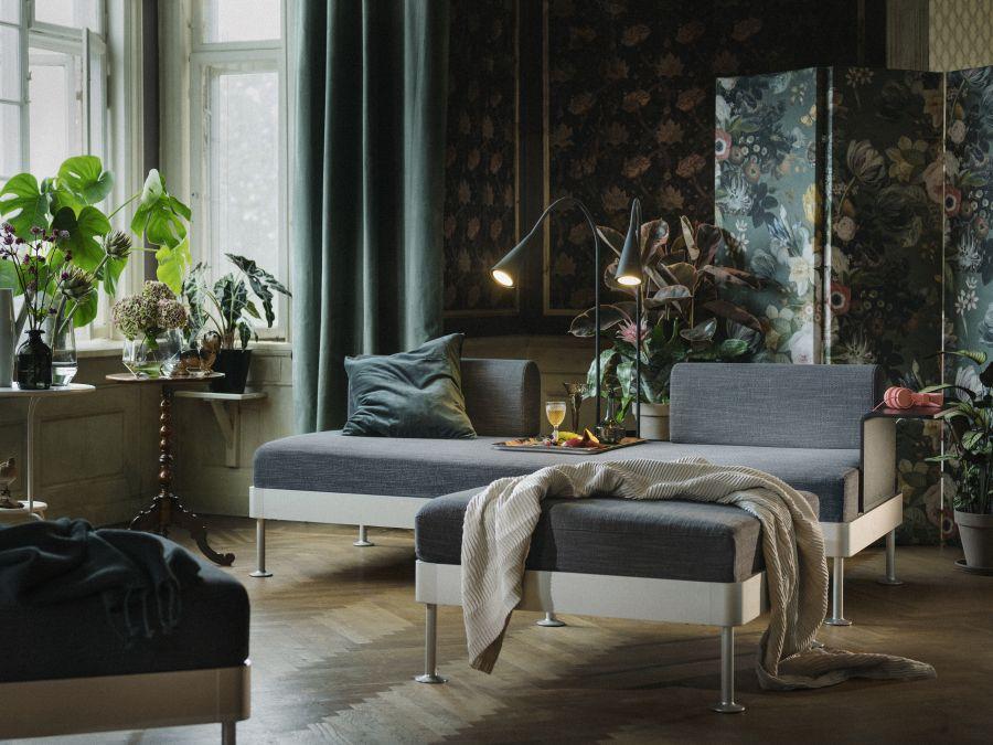 Ikea Delaktig sarok ülőgarnitúra