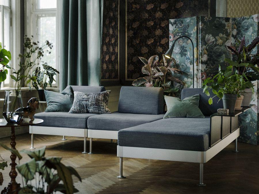 Ikea Delaktig lounge kanapé forma