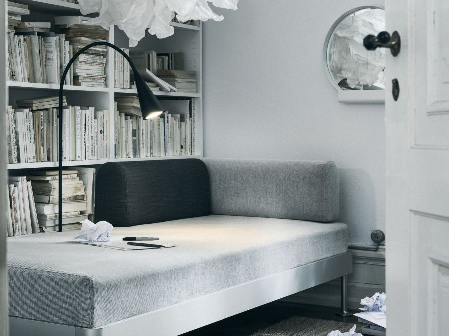 Ikea Delaktig olvasólámpával