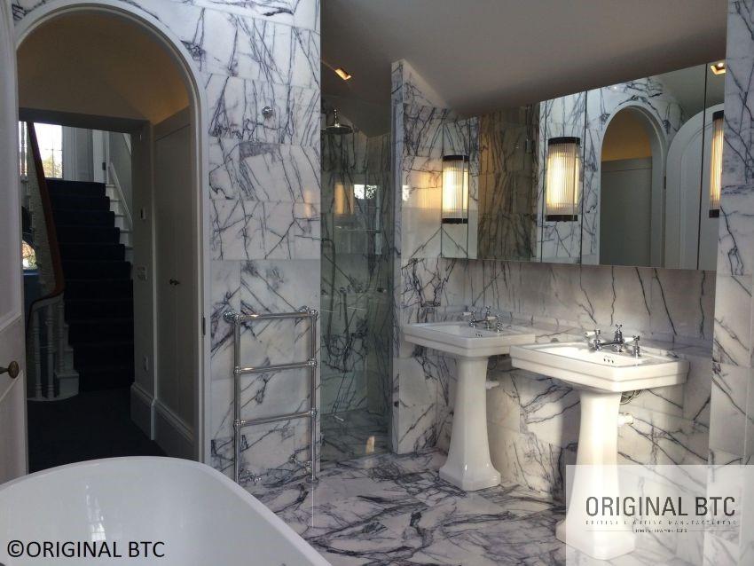 BTC art deco stílusú fürdőszobai lámpa