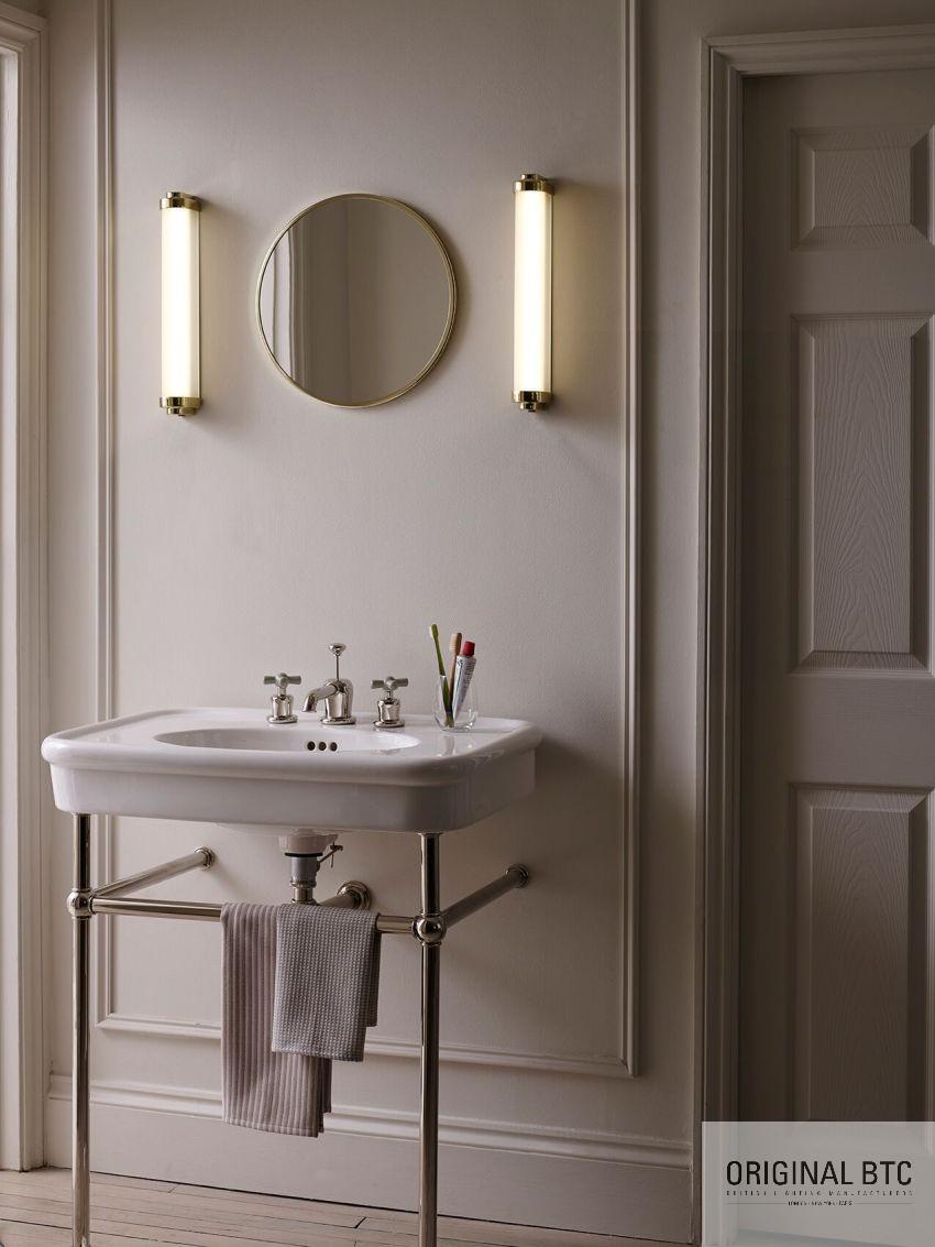 Igényes angol fürdőszobai lámpa