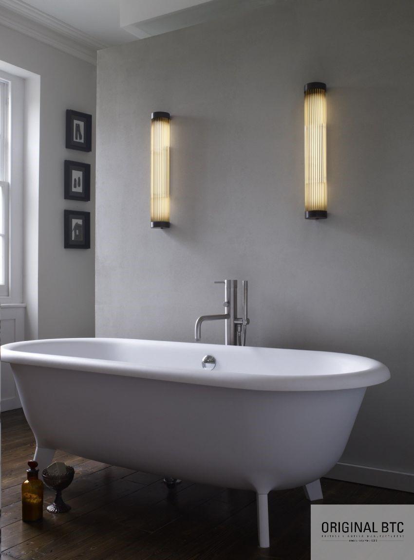 Dekoratív világítás fürdőszobában