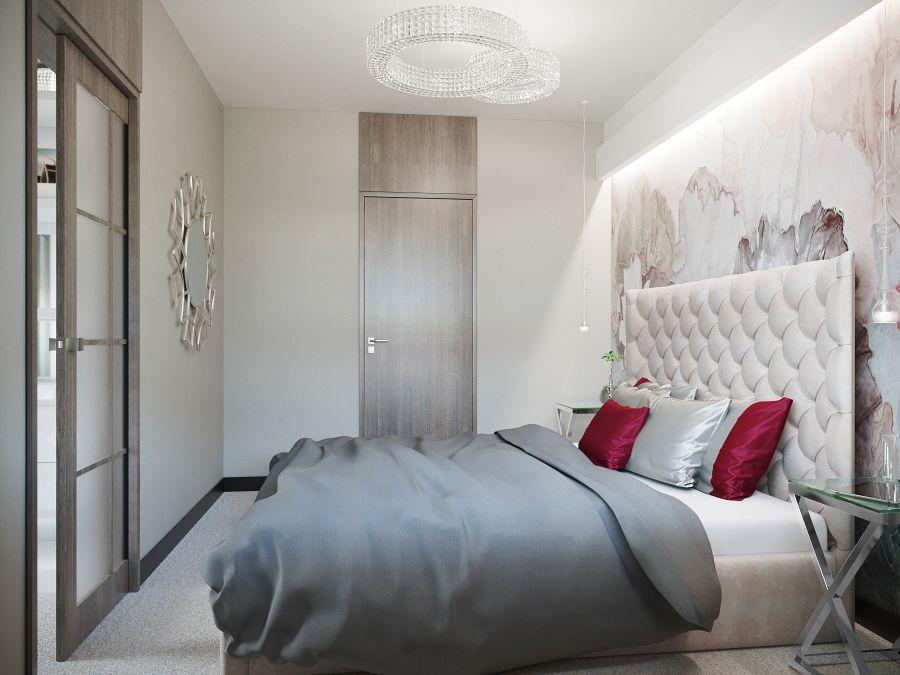 Luxus hálószoba Dóró Judit belsőépítész