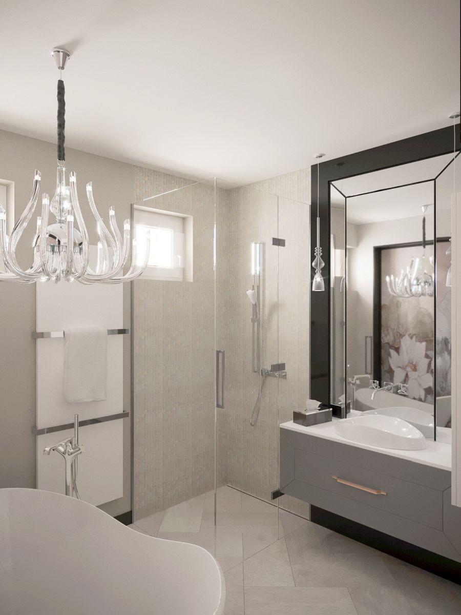 Zuhanyzóval kombinált fürdőszoba
