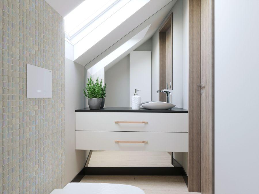 Emeleti világos fürdő