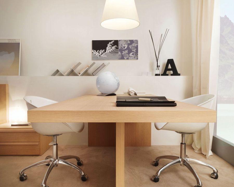 Modern minimál dolgozószoba