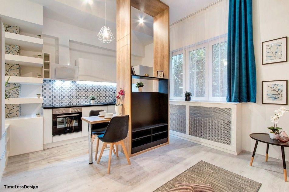 Falbontás után éledt újjá a budapesti 31 nm-es pici lakás